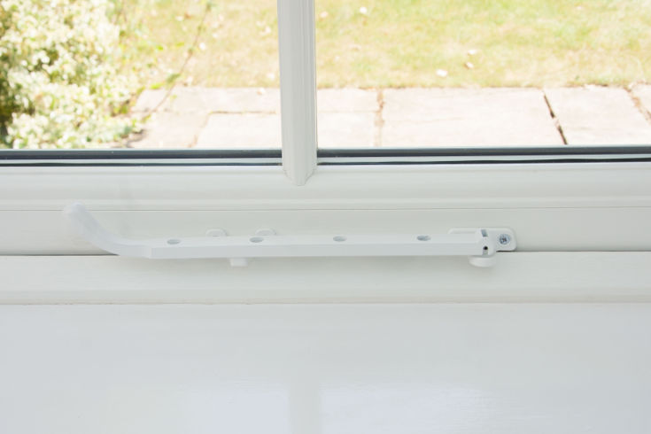 Pegstay Window handles for sale in the UK - white